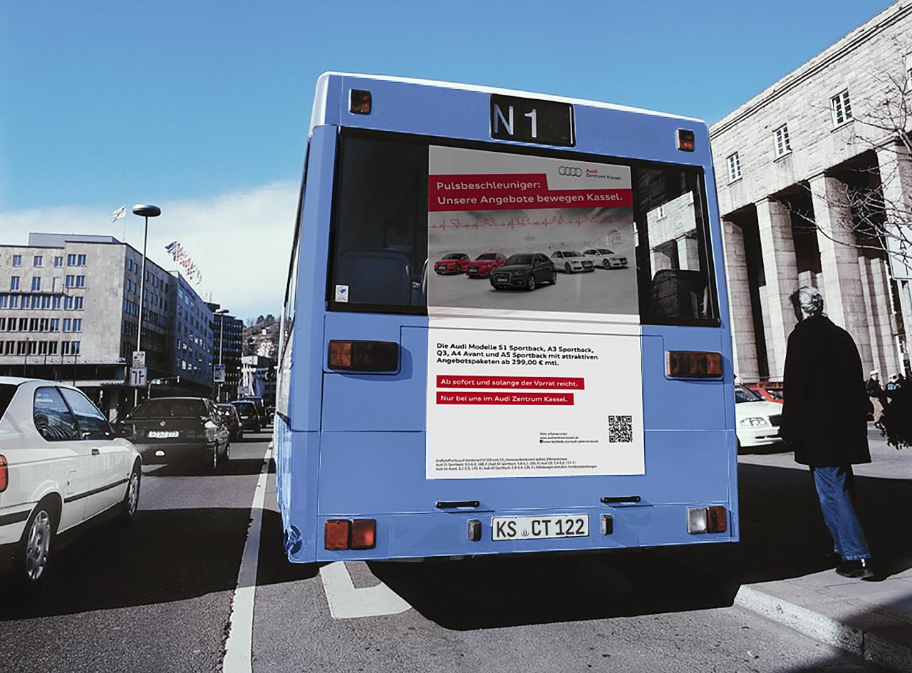intonic werbeagentur audizentrum kassel kampagne trafficboard