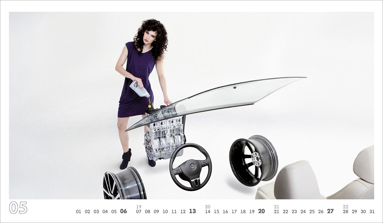 intonic werbeagentur vw kalender 2012