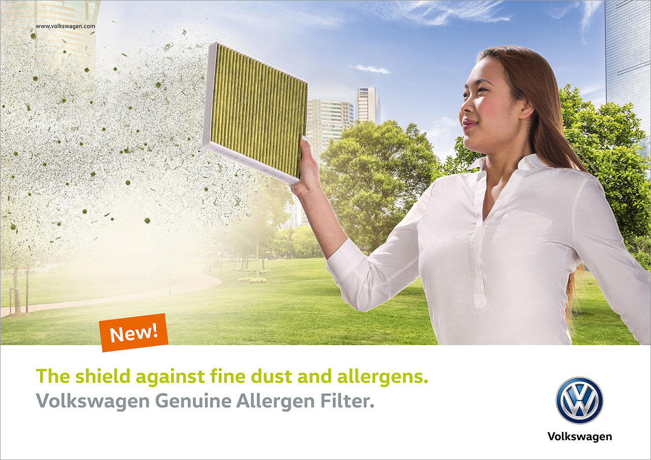 intonic werbeagentur vw kampagne allergenfilter motiv asia