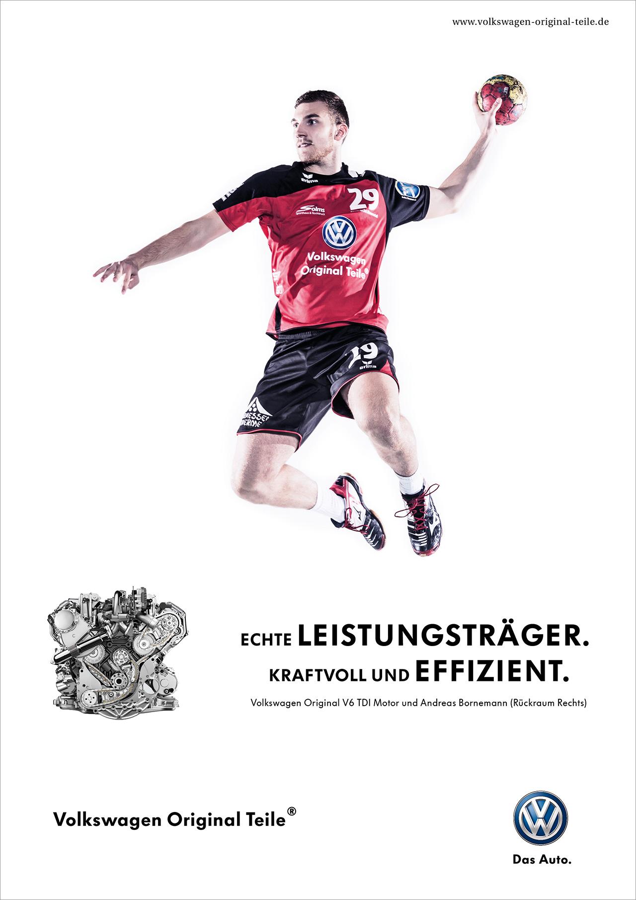 intonic werbeagentur vw sportsponsoring handball anzeige